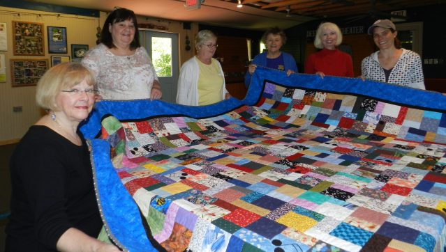 Ocracoke quilters