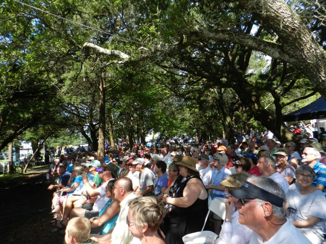 The main stage crowd at the 2016 Ocrafolk Fest. Photo: C. Leinbach