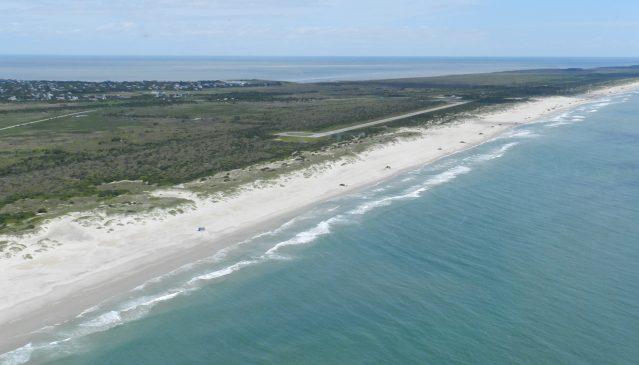 Ocracoke beach.