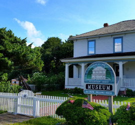 The Ocracoke Preservation Society Museum at 49 Water Plant Rd.