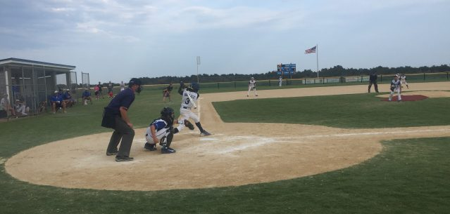 USSSA youth baseball tournament on Ocracoke, NC