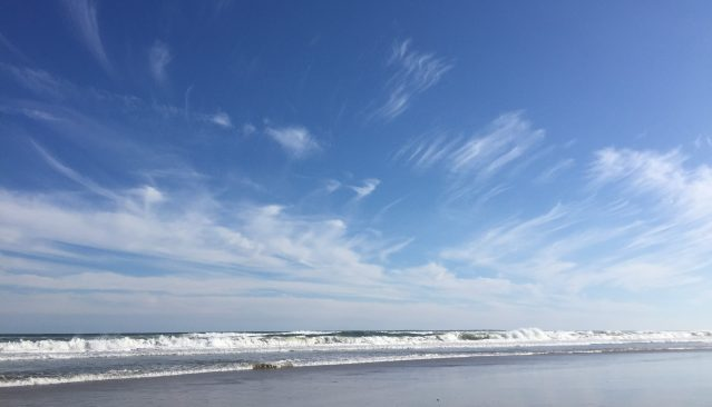 Beautiful beaches await on Ocracoke Island, NC. Photo: C. Leinbach