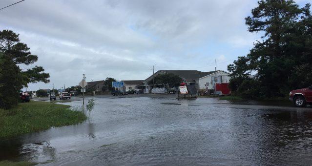 Hurricane Maria on Ocracoke, NC, Ocracoke Observer
