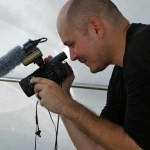 Joseph Cabosky with camera