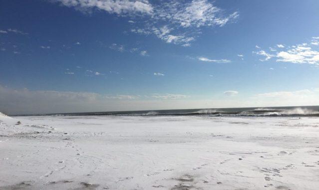 The windy Lifeguard Beach, Ocracoke, NC. Photo: C. Leinbach