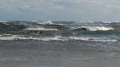 Ocean fury at Southpoint. Photo: Peter Vankevich