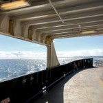 A view from the Hatteras-Ocracoke Ferry