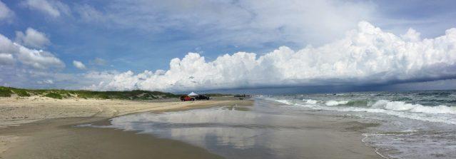 Ocracoke, N.C., beach. CL shot