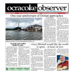 Ocracoke Observer front page
