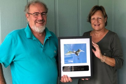 The Ocracoke Observer was among 14 recipients of the North Carolina Coastal Federation Pelican Award, which recognizes individuals and groups along the coast for their coastal stewardship.