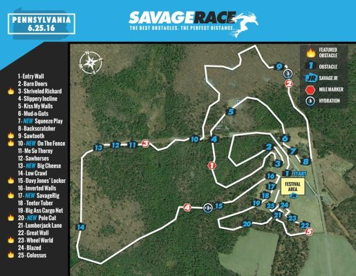 2016-Savage Race - Albrightsville (1)