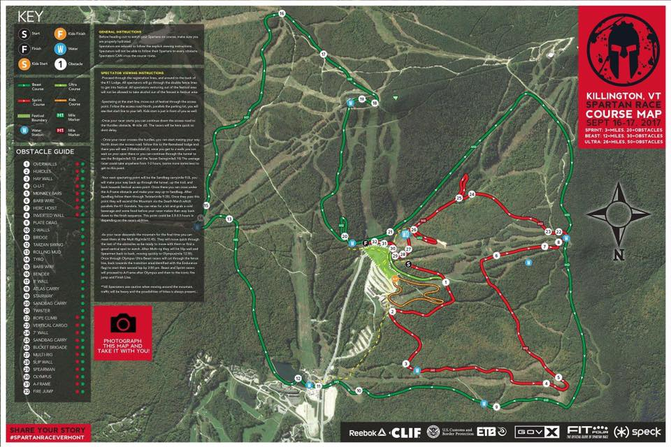2017 Killington Ultra Beast & Beast Review - OCRAddict on ski beech map, pico map, jay peak map, grand targhee map, dorset map, smugglers notch map, boyne highlands map, cambridge map, rupert map, wallingford map, hinesburg town forest map, sipapu map, vermont map, woodstock map, ludlow map, brownsville map, essex map, salisbury map, albany map, steamboat map,
