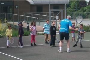 Image: Juniors tennis