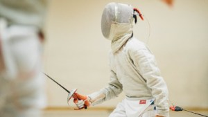 Junior fencing