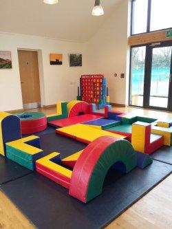 Pavilion soft-play