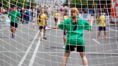 Image: Handball - Balonmano en la calle