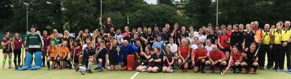 Image: Mixed Hockey- teams from Tavistock & Okehampton + Devon