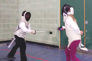 Image: OCRA Juniors fencing