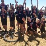 Team West Devon Cyclo X win gold