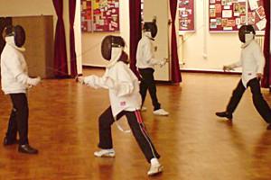 Image: Noadswood Juniors Fencing