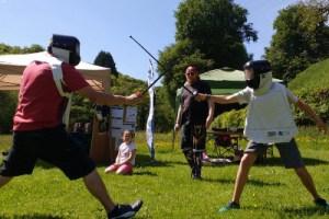 Image: Family fencing -West Devon Swords