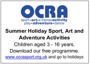 Image: OCRA sponsorship ad