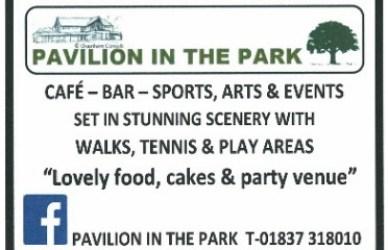 Image: Pavilion sponsorship ad