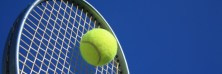 Image: tennis and racket