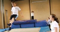 Image: mini trampoline
