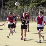 Image: SPORTS FEST NETBALL ACTION