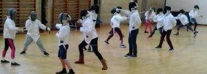 Image: Juniors Fencing 2019