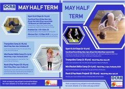 Image: May holidays programme