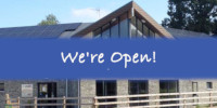 Pavilion Cafe is Open