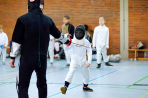 Junior Fencing Coaching