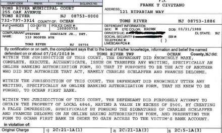 Frank Civitano: Criminal Complaint Copy