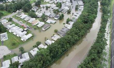 Brick: Flooding NOT Caused by GSP Interchange 91 Work.