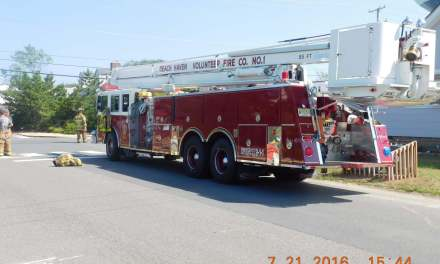Beach Haven: Structure Fire