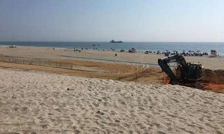 Beach Revenue Down Slightly Amid Backdrop of Replenishment
