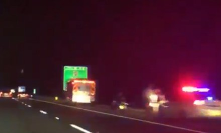 Jackson: MV Accident – I-195 @ Interchange 16. Jackson Premium Outlets – VIDEO
