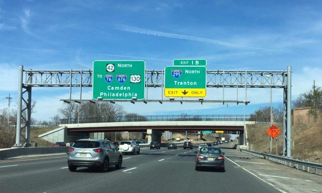 I-295: Paint Spill!