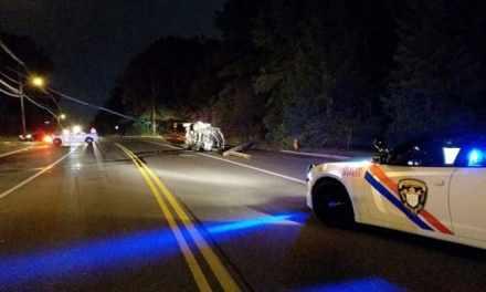 TOMS RIVER: Car vs Pole – Teen Driver Injured