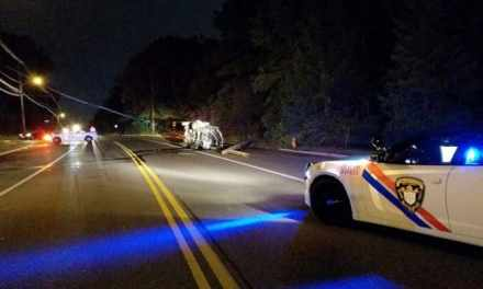 TOMS RIVER: Car vs Pole – Teen Driver Injured