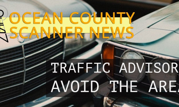 Garden State Parkway: Motor Vehicle Accident