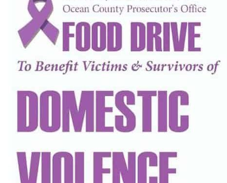 OCEAN COUNTY: Domestic Violence Awareness Month – FOOD DRIVE