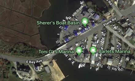 Boat Fire: Barnegat