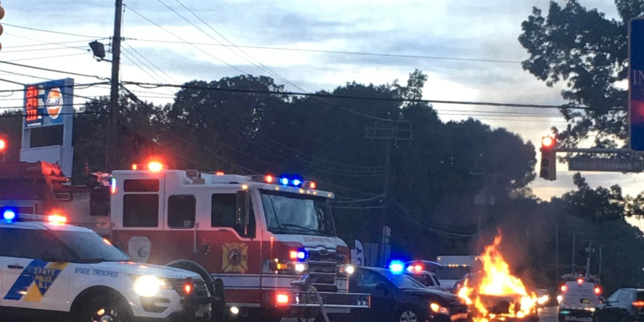 JACKSON: CR571 @ CR537- Vehicle Fire