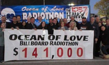 TOMS RIVER – 105.7 The Hawk: Ocean of Love Radiothon
