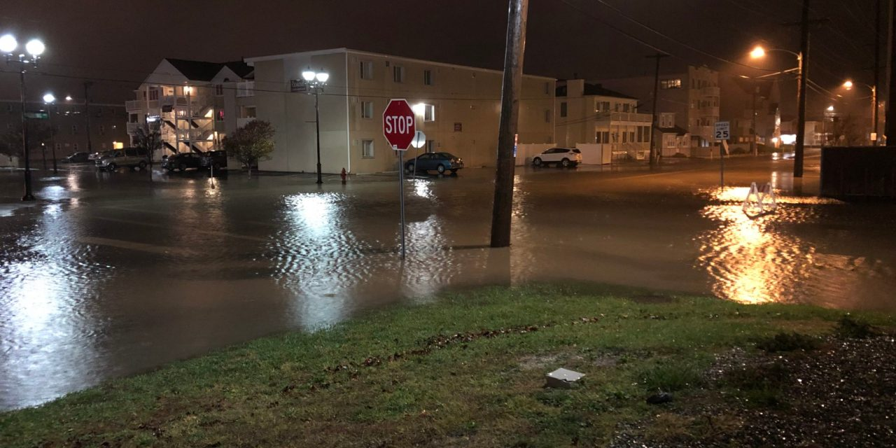 SEASIDE HEIGHTS: Flooding