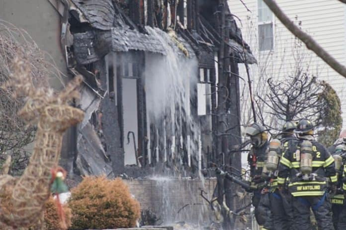 TOMS RIVER: Thursday Blaze Claims Home, Four Family Pets