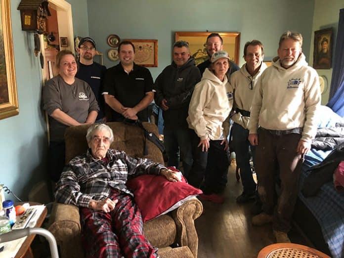 BRICK: Habitat For Humanity Repairs Vet's Home